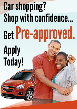 Car shopping? Shop with confidence... Get pre-approved. Apply today!