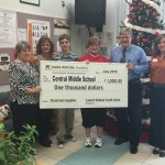 central middle school donation