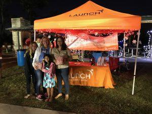 Launch FCU at Space Coast Light Fest