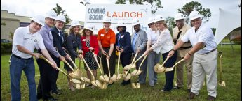 Ormond Beach Branch Groundbreaking Ceremony