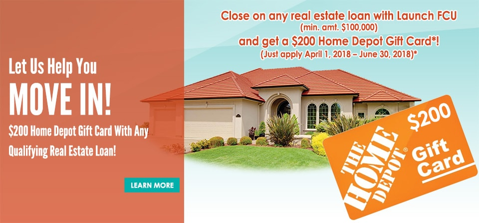 Mortgage Promo Home Depot