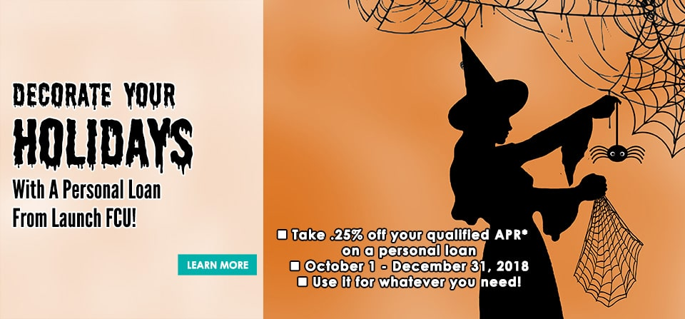 Spook-Tacular Personal Loan Promotion