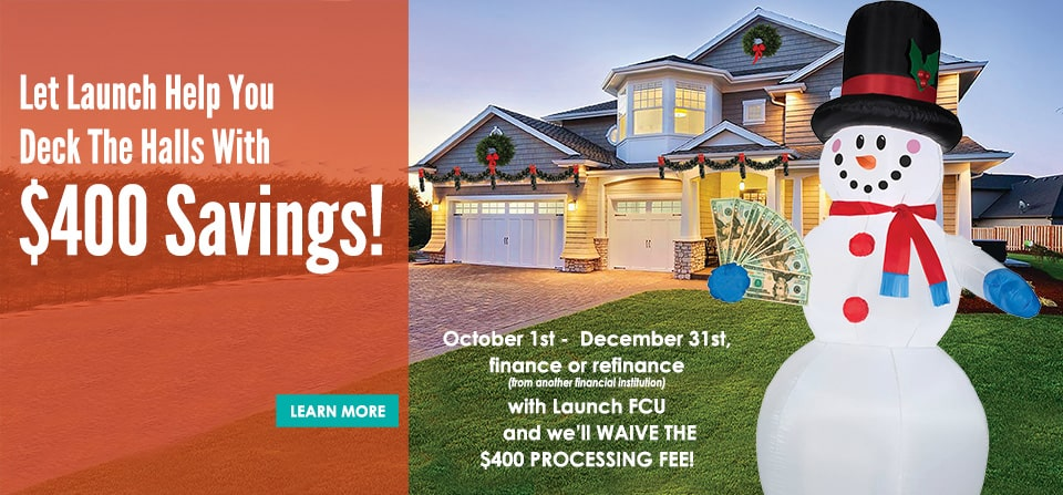 Get Your $400 Mortgage Processing Fee Waived*