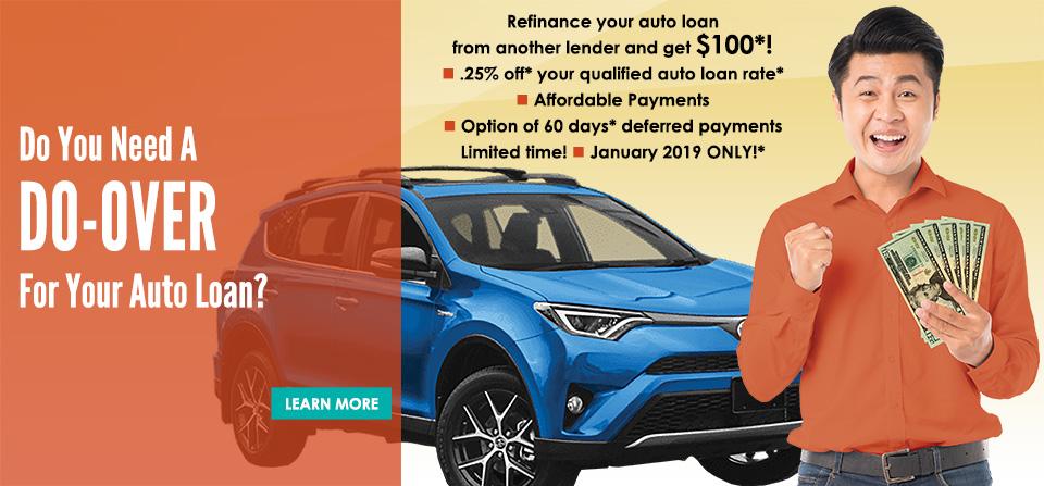 Auto Refinance January