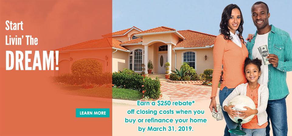 Mortgage $250 Rebate Promo