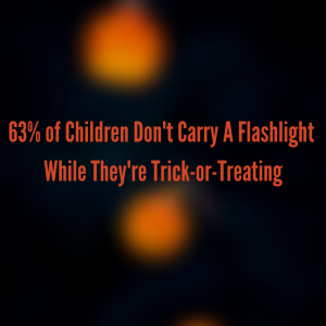Children Don't Carry Flashlights Trick-or-Treating