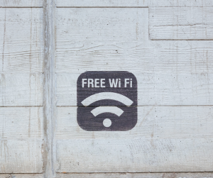 Don't use unsecured public wifi.