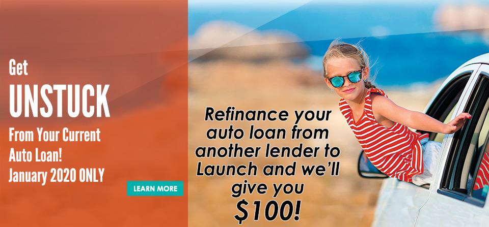 Get Unstuck- Auto Loan Refinance