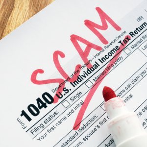 1040 tax document | Scam