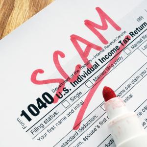 1040 tax document | Scam