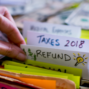 Filing Folder | Refund | Taxes 2018
