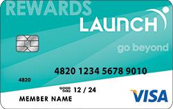 Launch Rewards Visa Credit Card