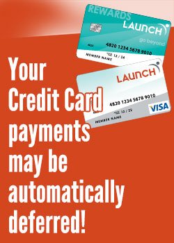 Your Credit Card payments may be automatically deferred!