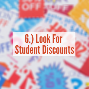 A pile of student discounts | Look For Student Discounts
