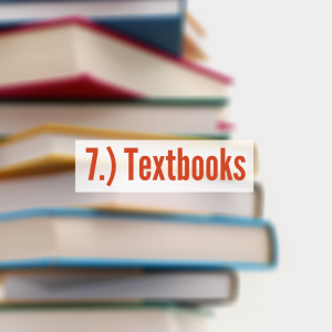 A pile of books | Textbooks