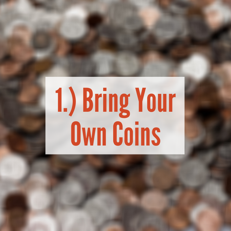 A pile of coins | Bring Your Own Coins