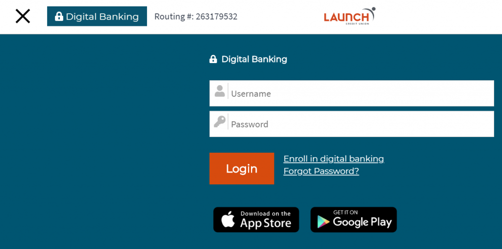 Logging in to Digital Banking