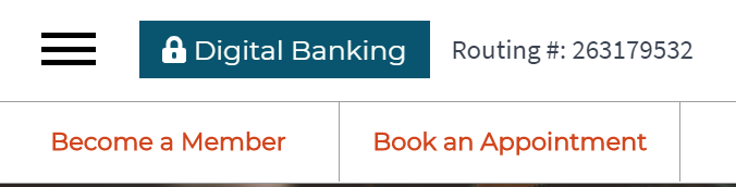Click Digital Banking to Login