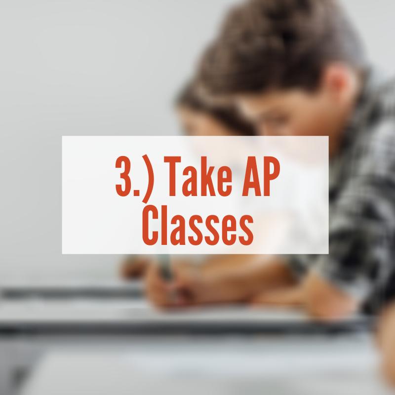 Students sitting at desks | Take AP Classes