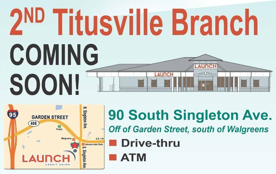 2nd Titusville Branch is Coming Soon