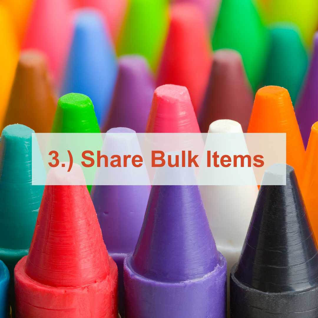 multiple colored crayons | Share Bulk Items