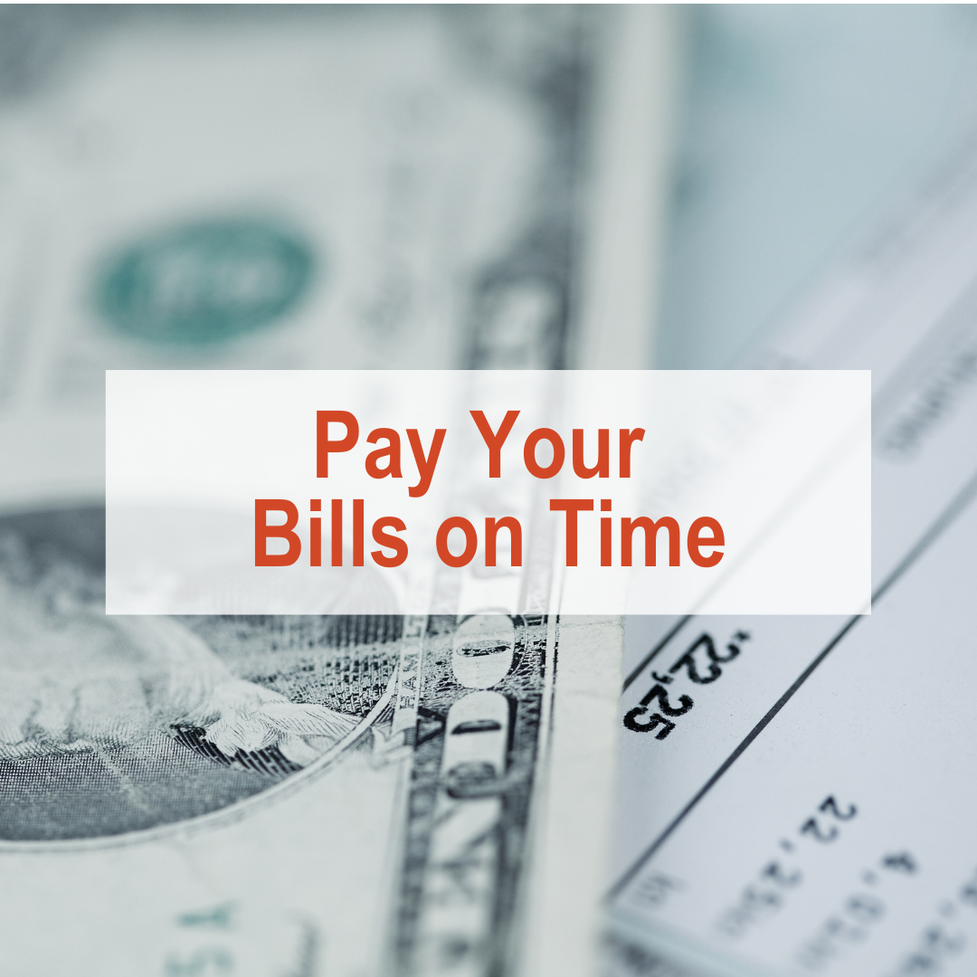 How to Build Credit - Pay Your Bills on Time