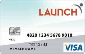 Launch Visa Platinum Credit Card