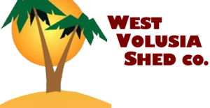 West Volusia Shed Company Logo