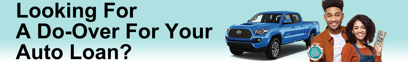 Looking for a do-over on your auto loan?