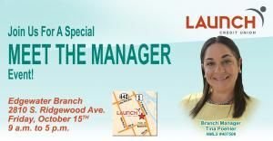 Join Us for a Special Meet the Manager Event- Tina Poehler Edgwater