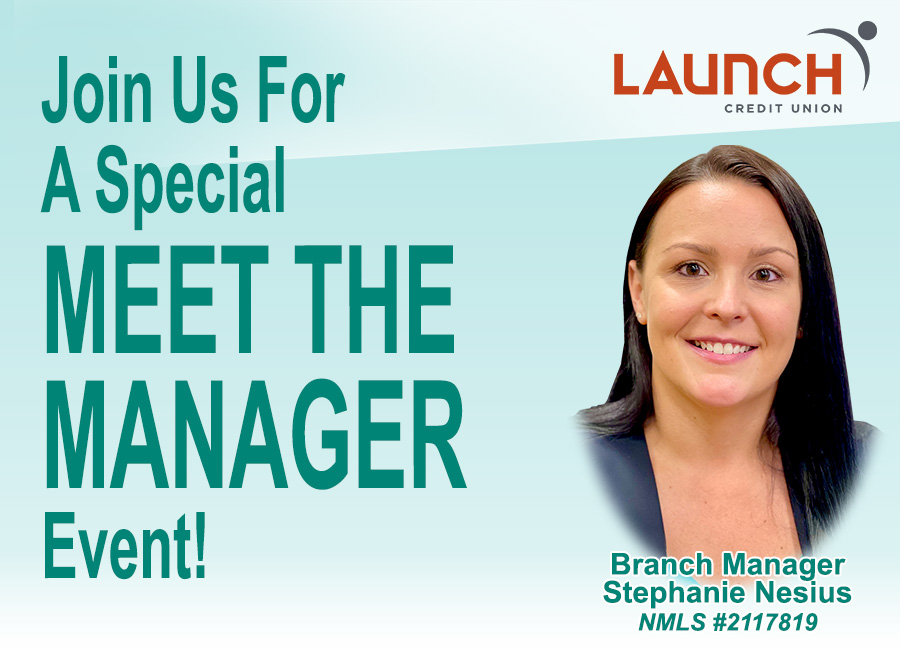 Join us for our special meet the manager event