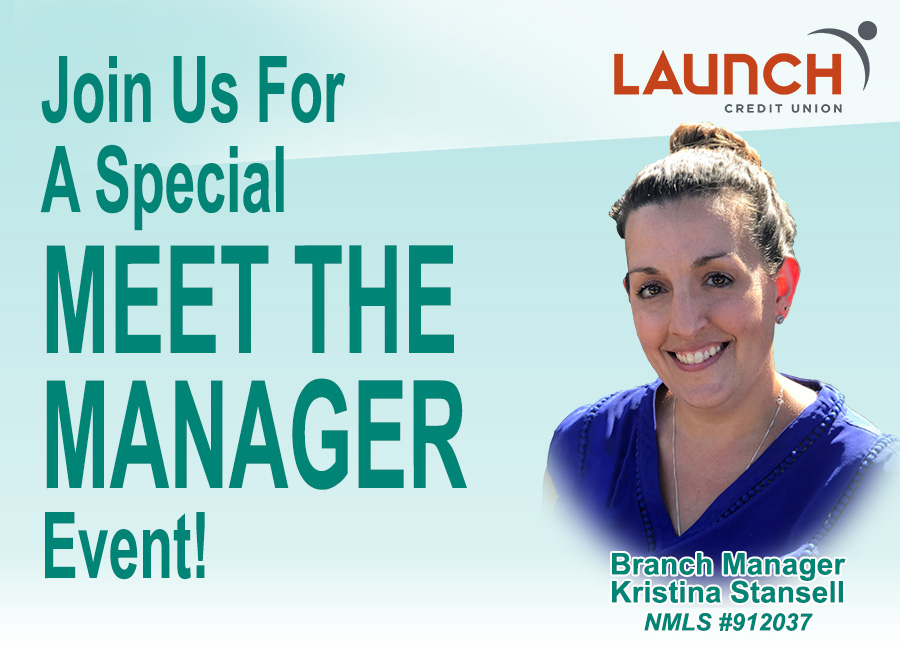 Join us for a special meet the manager event