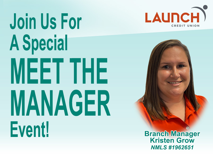 Join us for our meet the manager event
