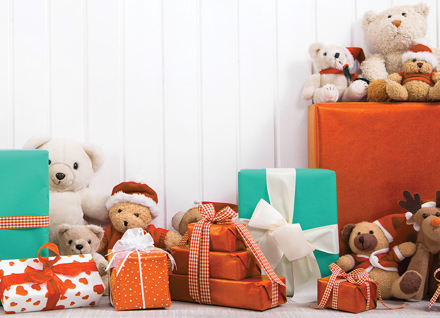 Toys and gifts for Toys For Tots Donation Drive