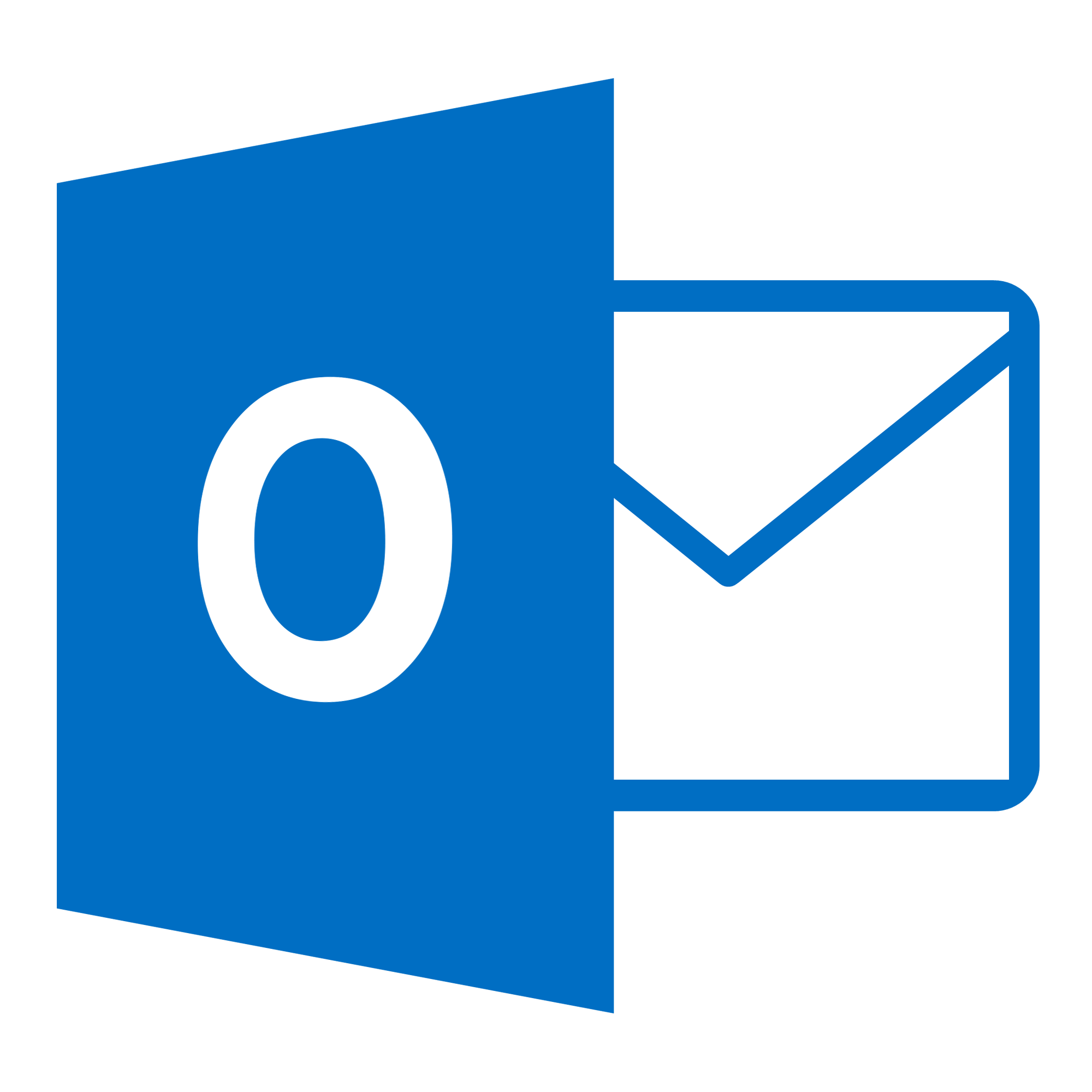 Microsoft outlook email logo